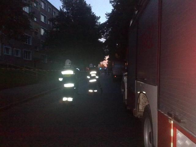 W budynku w Gorzowie ulatniał się gaz.
