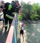 Uratował ich filar mostu