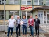 Technikum nr 5 w Sosnowcu podpisało umowę o współpracy z SK Hi-Tech. W szkole powstanie klasa patronacka