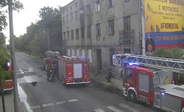 Z powodu pożaru w opuszczonej kamienicy przy ul. Franciszkańskiej 35 występują utrudnienia w rejonie skrzyżowania ul. Franciszkańskiej i ul. Wojska Polskiego. Ulica Franciszkańska jest nieprzejezdna.