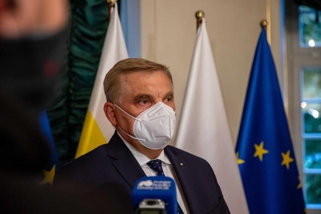 Tadeusz Truskolaski trafił do szpitala z powodu COVID-19.