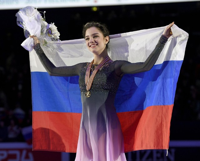 Jewgienija Miedwiediewa w Pjongczangu nie wystąpi pod rosyjską flagą, tylko olimpijską