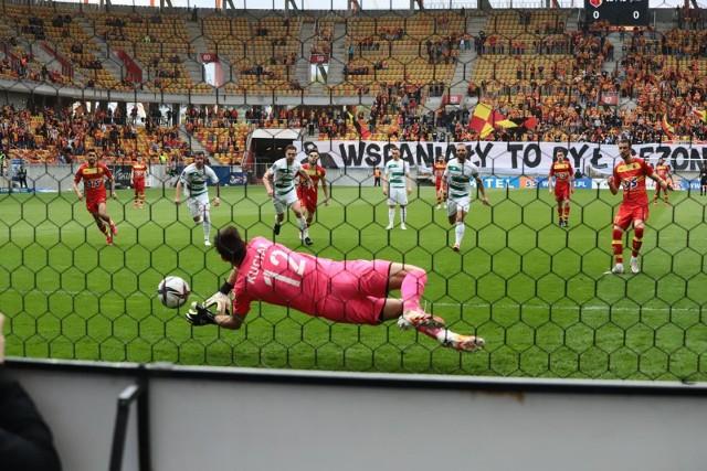 Jagiellonia Białystok na koniec sezonu pokonała 2:1 Lechię Gdańsk
