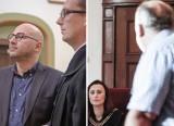 Szumełda kontra Guzikiewicz w sądzie. Ciąg dalszy sprawy awantury podczas wizyty premiera Morawieckiego w sali BHP