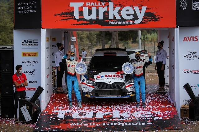 Kajetanowicz skomentował zwycięstwo w Rajdzie Turcji