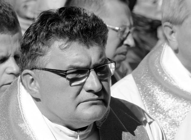 Ksiądz Ryszard Łuba miał 57 lat.