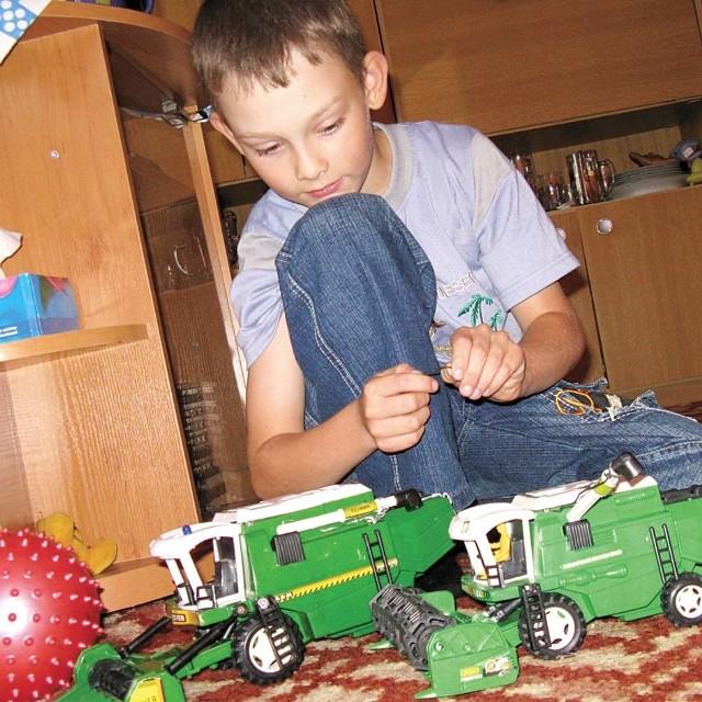 Damian Dzienis z Igrył marzy o klockach lego