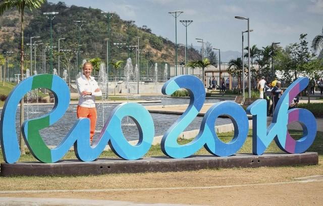 Karolina Kołeczek z Wisły Junior Sandomierz jest pod wrażeniem atmosfery w wiosce olimpijskiej w Rio de Janeiro.