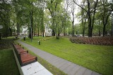 Będzie nowy park na południu Katowic. Powstaną alejki, wybieg dla psów, siłownia plenerowa, stół piknikowy i sporo nowych nasadzeń.
