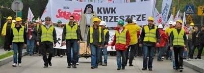 Organizatorzy manifestacji od początku apelowali o spokój i trzymanie nerwów na wodzy Fot. Wojciech Matusik