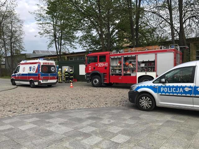 Nietypowe zgłoszenie miało miejsce w Supraślu. Strażacy z OSP mieli uwolnić osobę, która od godziny nie dawała znaku życia zamknięta w toalecie na Placu Tadeusza Kościuszki