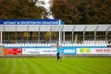 Hutnik Kraków. Tak wyglądały puste trybunach stadionu na Suchych Stawach w meczu ze Skrą Częstochowa [ZDJĘCIA]