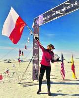 Mieszkanka Gdańska wygrała maraton na Antarktydzie