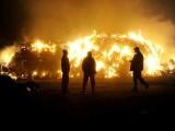 Wielki pożar w Wieńcu. Akcja gaszenia stodoły trwała ponad 16 godzin!