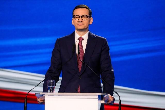 - Nowy Ład to gotowe dziesiątki ustaw, z którymi ruszamy w Polskę - mówił w sobotę 15 maja premier Mateusz Morawiecki