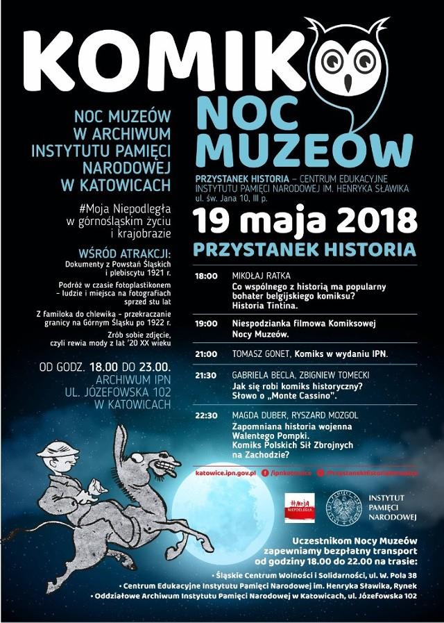 IPN Katowice zaprasza w Noc Muzeów