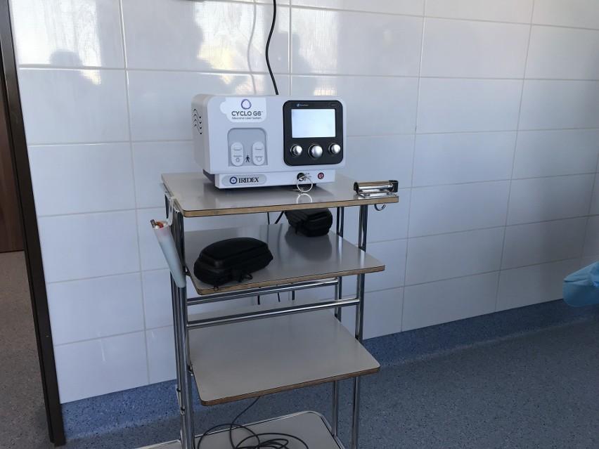 To jedyny tak nowoczesny sprzęt do leczenia jaskry w...