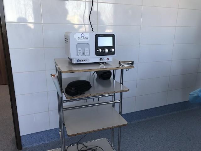To jedyny tak nowoczesny sprzęt do leczenia jaskry w regionie. Wystarczy skierowanie od lekarza, by móc poddać się terapii