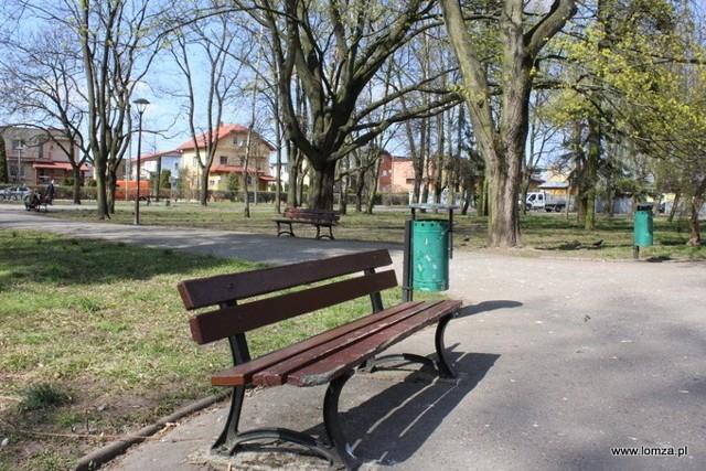 Park im. Jakuba Wagi przejdzie renowację. W pierwszej kolejności wymienione zostaną ławki i kosze na śmieci.