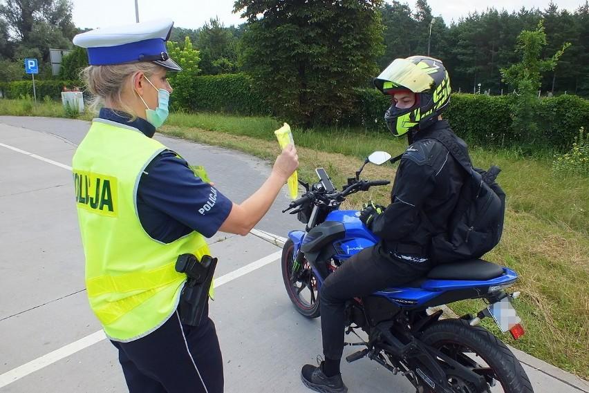 Z okazji dnia Św. Krzysztofa bydgoscy policjanci nie karali...