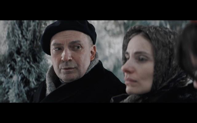 W postać prymasa Wyszyńskiego wciela się aktor stołecznego Teatru Dramatycznego - Sławomir Grzymkowski (z lewej)