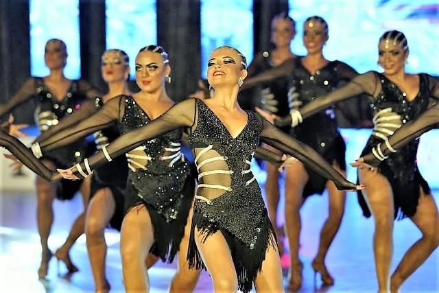 Elita Lejdis z Oświęcimia wytańczyła mistrzostwo Europy formacji tanecznych WADF w Warszawie (9-10 październik 2021)