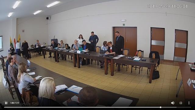 Sesja rady gminy Nowa Sól, 29 maja 2019 r.