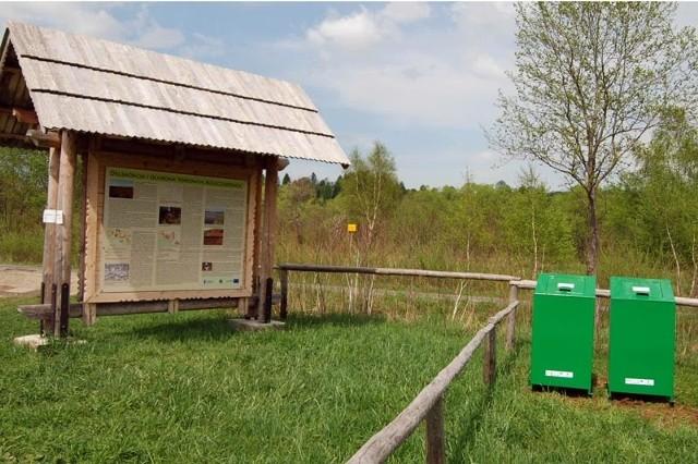 W Bieszczadach stoją już specjalne kosze zabezpieczone przed niedźwiedziami.