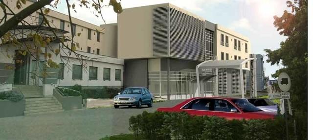 Tak po zakończeniu rozbudowy będzie wyglądał Hotel 3 Trio.