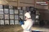 Policjanci z Częstochowy wykryli niebezpieczne składowisko 872 tony odpadów niebezpiecznych
