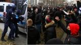 """Wisła Kraków. Kibice zrobili """"zbiegowisko"""" pod stadionem na meczu ze Stalą. Bilans: 270 wylegitymowanych, kilku zatrzymanych [ZDJĘCIA]"""