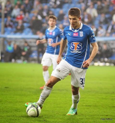 Możdżeń w meczu z Podbeskidziem Bielsko-Biała zapewnił Lechowi zwycięstwo