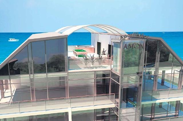 Tak ma prezentować się nowy apartamentowiec. Szklany dom stanie nad morzem