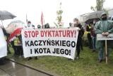 """Protest rolników ZDJĘCIA 13.10. W Warszawie protestowano przeciwko """"piątce dla zwierząt"""""""