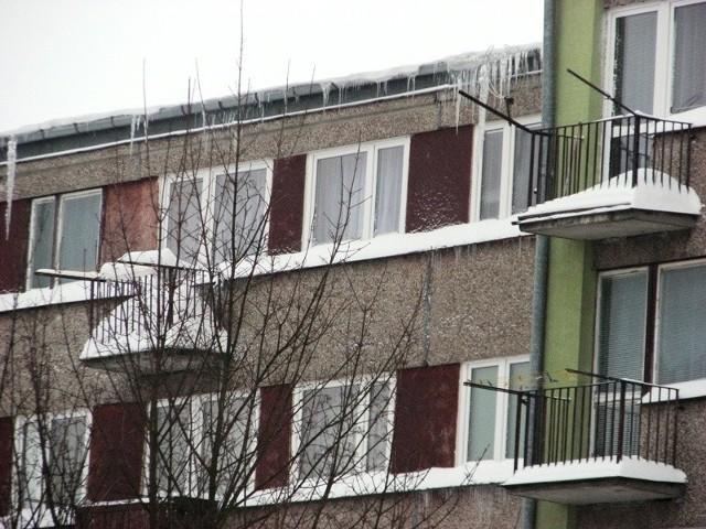 Zima jest takze w Malkini