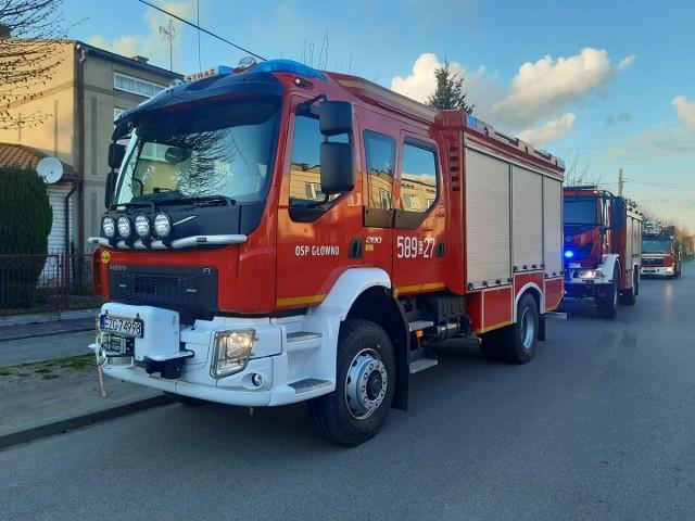 Na miejscu bardzo szybko pojawili się strażacy z OSP w Głownie, jednak dziecka nie udało się uratować.