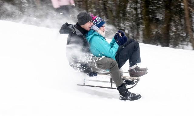 O ile dla jednych śnieg to zmartwienie i powód do nerwów, dla innych to źródło nieustającej zabawy.