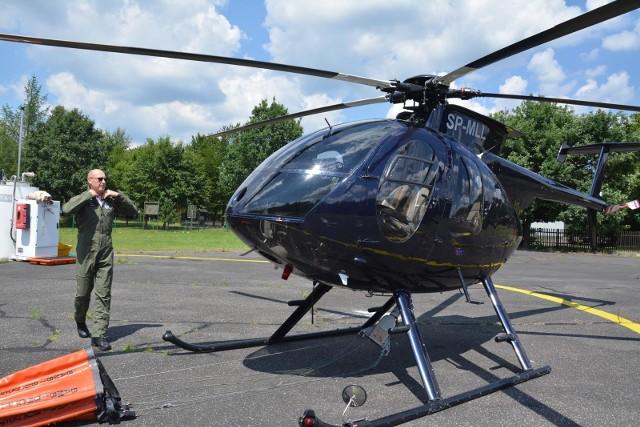 Helikopter w Brynku obsługuje strefy 39 i 40, do których należą prawie wszystkie nadleśnictwa Dyrekcji Generalnej Lasów Państwowych w Katowicach, od Oławy na Zachodzie po Olkusz na wschodzie