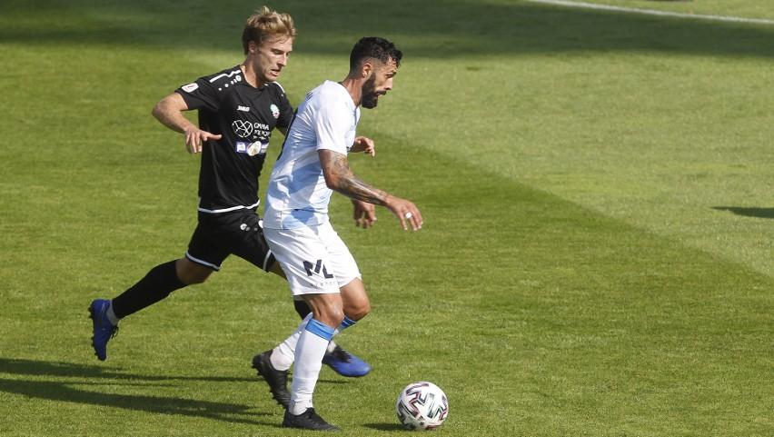 Krystian Pieczara otworzył wynik meczu, w którym Stal Rzeszów nie dała szans Błękitnym