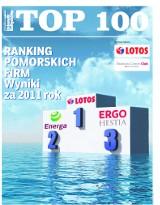 Ranking największych firm Pomorza 2012. Zgłoś swoją firmę do TOP 100!