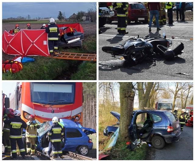 Według policyjnych statystyk w dniach od 1 do 26 kwietnia w województwie wielkopolskim doszło do 115 wypadków, 1874 kolizji. W wyniku tych zdarzeń drogowych zginęło 17 osób, a 121 zostało rannych. W galerii przedstawiamy przegląd wypadków z kwietnia 2021 roku. Zobacz zdjęcia --->