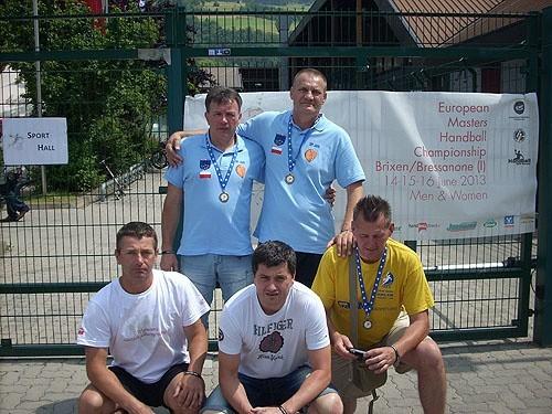 Brązowe medale ME zdobyli Kazimierz Wiśniowski i Marek...