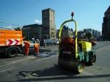 Poznań: Drogowcy załatali dziury o łącznej powierzchni 1/4 stadionu przy Bułgarskiej
