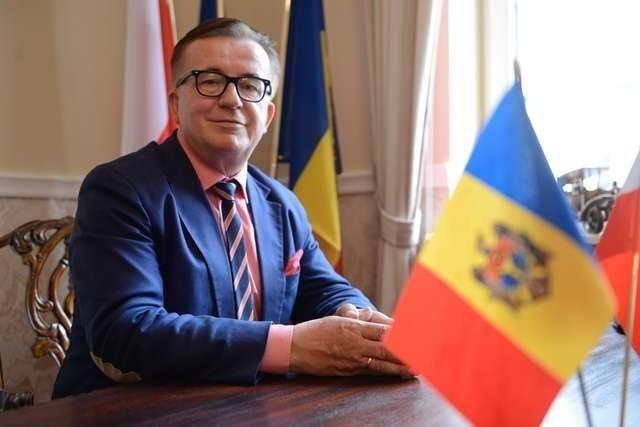 Jan Mrozowski, honorowy konsul Mołdawii w Toruniu