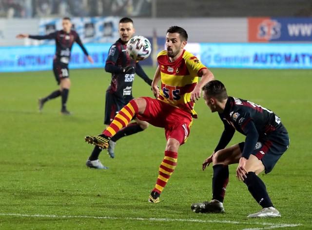 W marcowym meczu z Pogonią Szczecin Maciej Makuszewski i Ariel Borysiuk strzelili po golu.