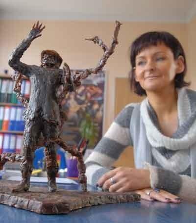 - Makieta pomnika Niemena jest gotowa, ale prawdopodobnie ta wersja nie przejdzie - mówi Beata Czechowska ze Świebodzińskiego Domu Kultury