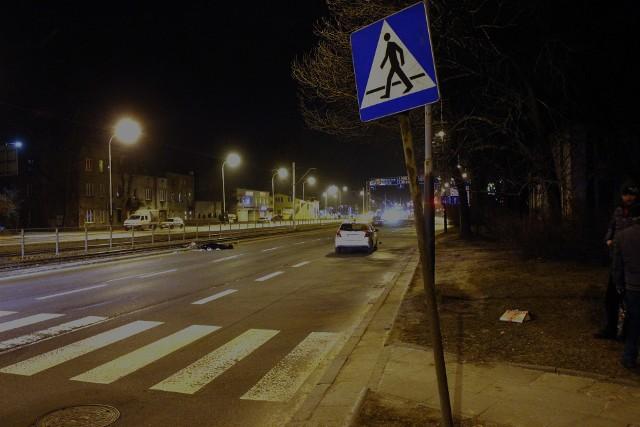 Śmiertelny wypadek na Pabianickiej w Łodzi