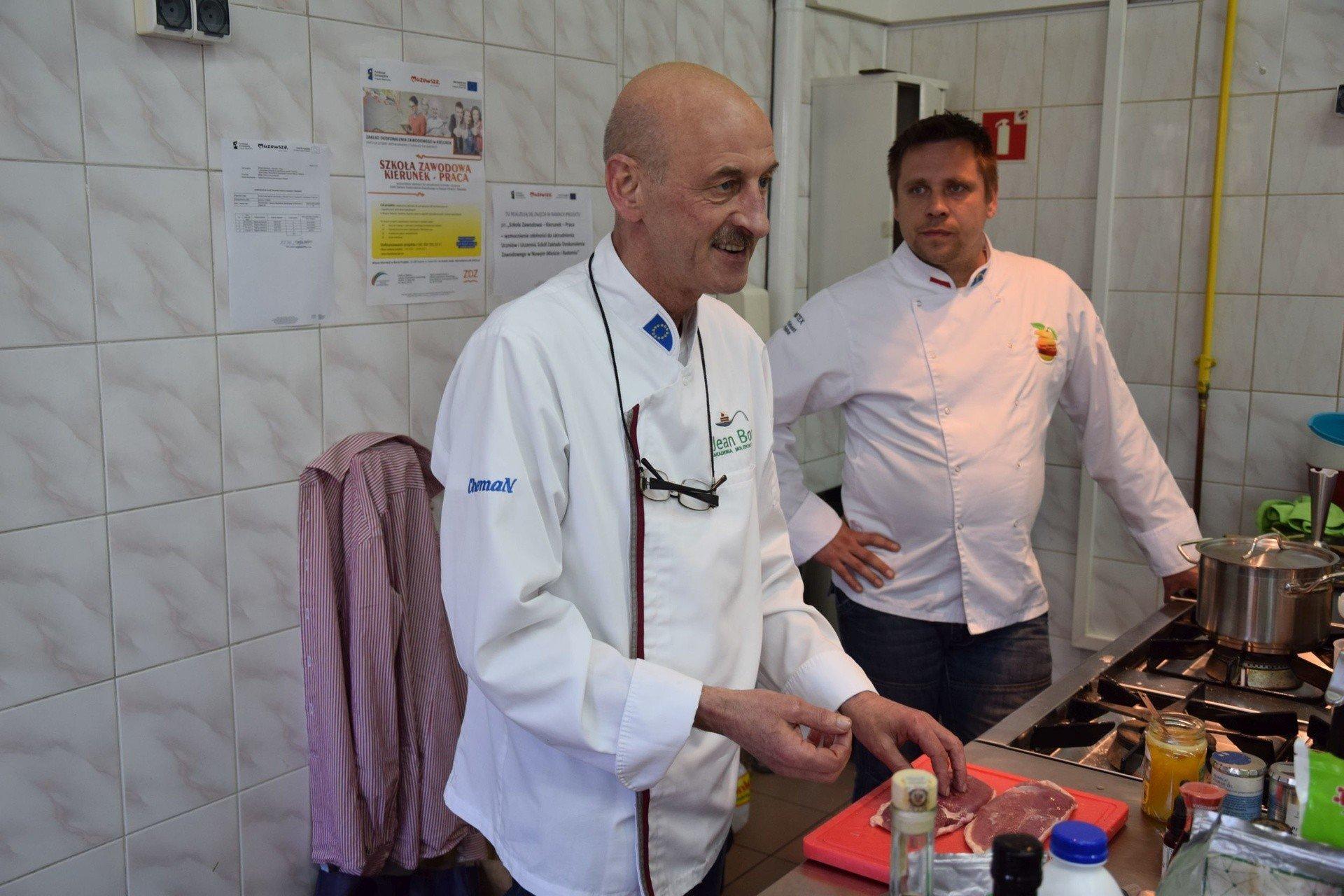 Radom Znany Kucharz Jean Bos Dal Pokaz Kuchni Molekularnej Echo Dnia Radomskie
