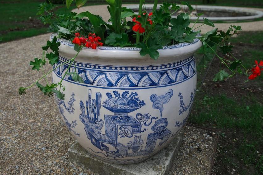 Ogród włoski w Muzeum - Zamku w Łańcucie już po rewitalizacji [ZDJĘCIA]