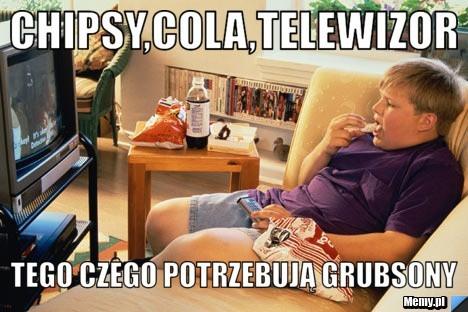 Oglądanie telewizora i podjadanie słodyczy to ulubiony sport nie tylko dorosłych. Coraz częściej w sidła reklam wpadają także dzieci i młodzież